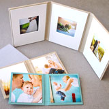 Hand-crafted folio display for family, pet, or wedding photos