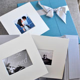 Wedding photography display mats