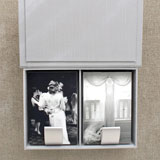 Wedding images in black & white with proof box